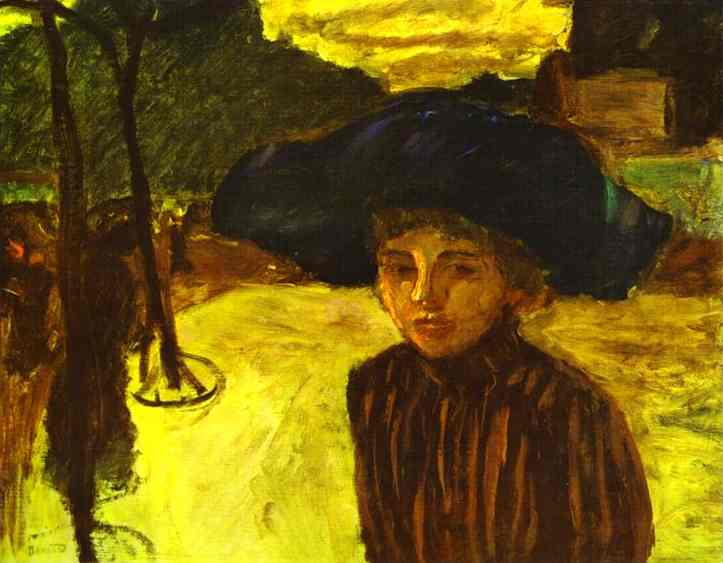 woman-in-a-blue-hat-1908