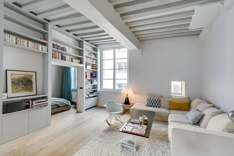 Historic-apartment-in-paris-gets-a-beautiful-modern-revamp