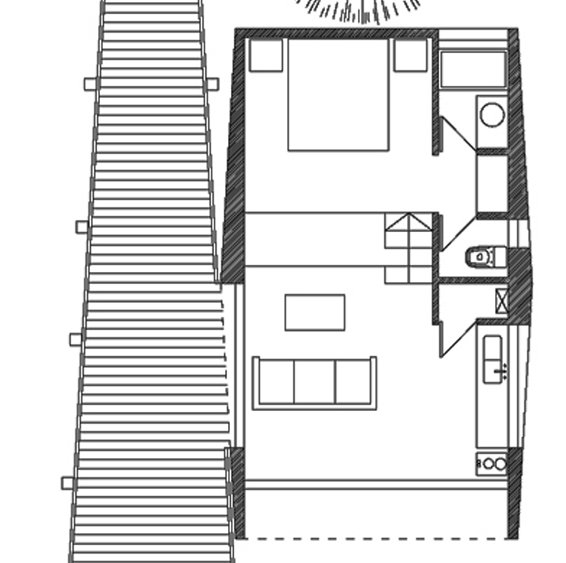 Quebrada-House-UNarquitectura-Small-House-in-Chile-Floor-Plan-Humble-Homes