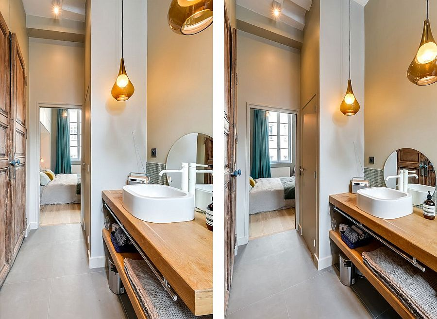 Wooden-vanity-for-the-small-narrow-bathroom