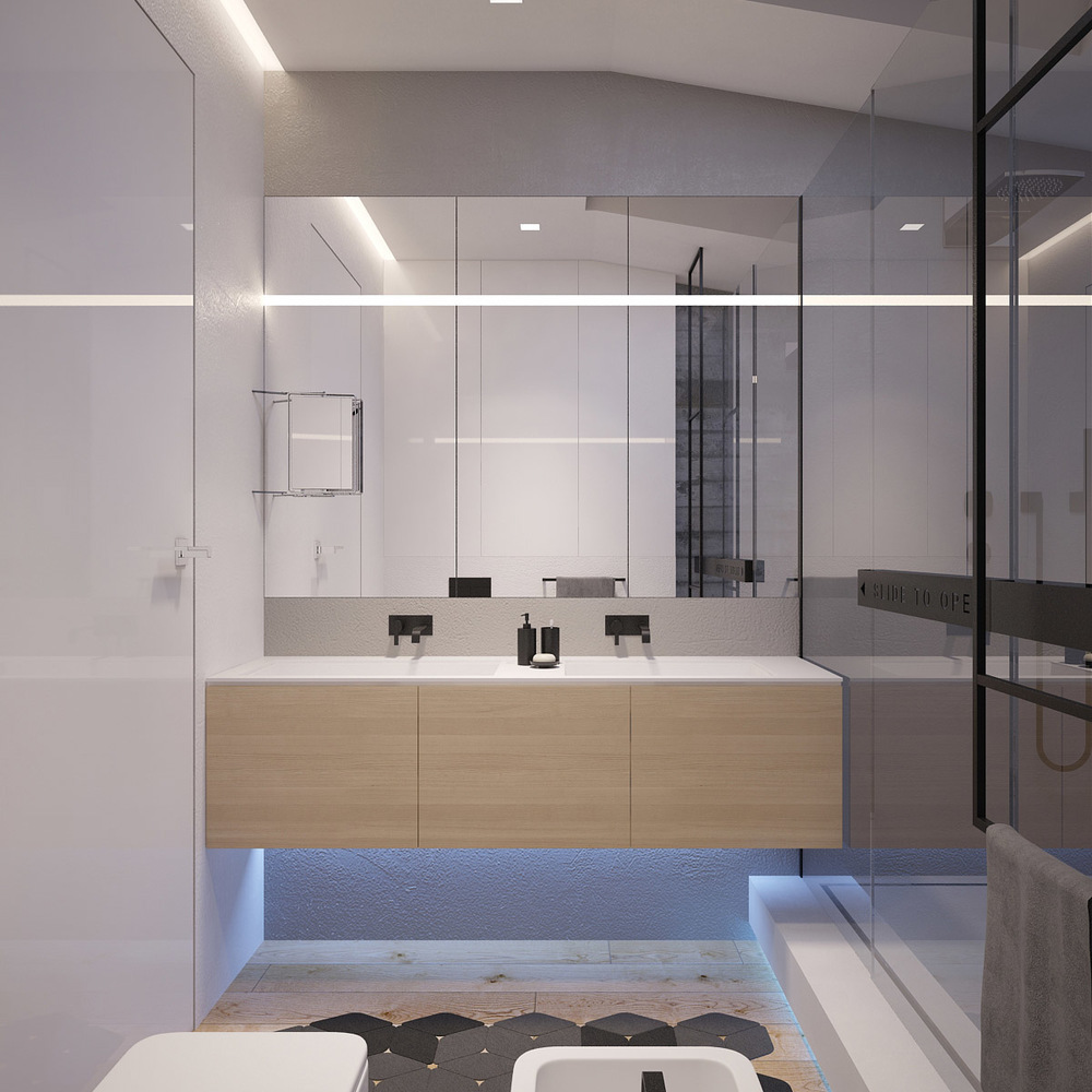 sleek-bathroom