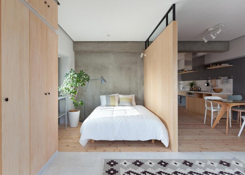 Fujigaoka-M-Apartment-Small-Apartment-Sinato-Tokyo-Bedroom-Humble-Homes