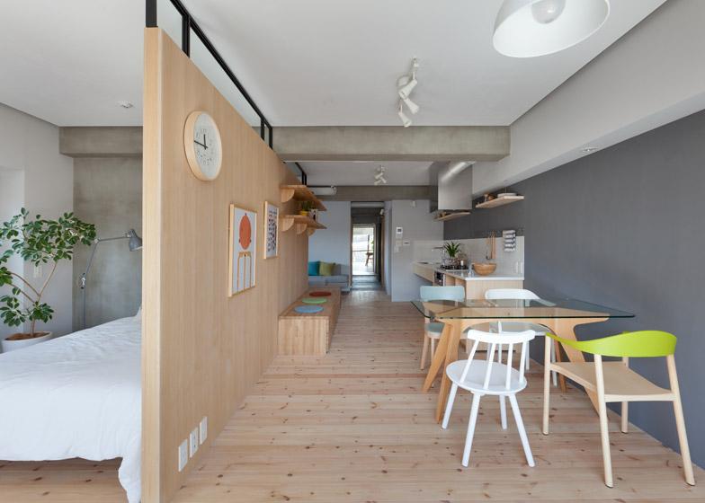 Fujigaoka-M-Apartment-Small-Apartment-Sinato-Tokyo-Dining-Room-Humble-Homes