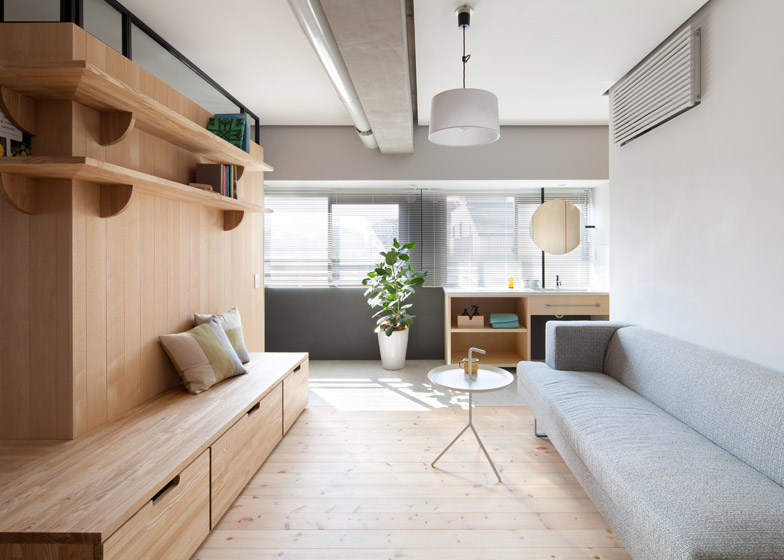 Fujigaoka-M-Apartment-Small-Apartment-Sinato-Tokyo-Living-Room-Humble-Homes