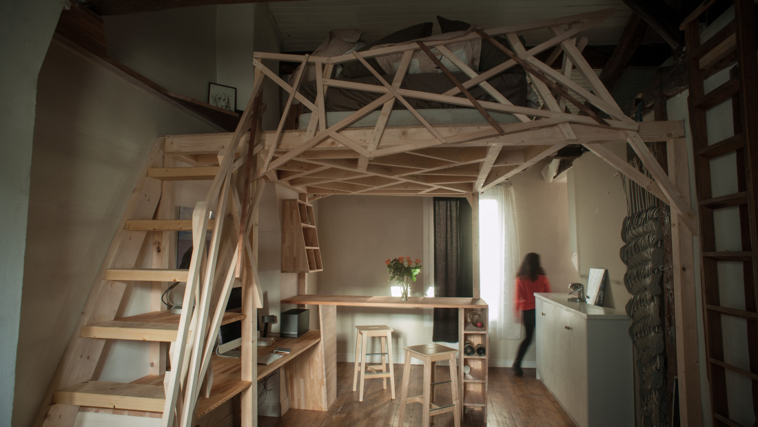 Paris-Apartment-Redesign-Fabbricabois-Timber-Loft-1-Humble-Homes