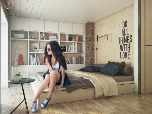 plywood-bedroom-design-600x450