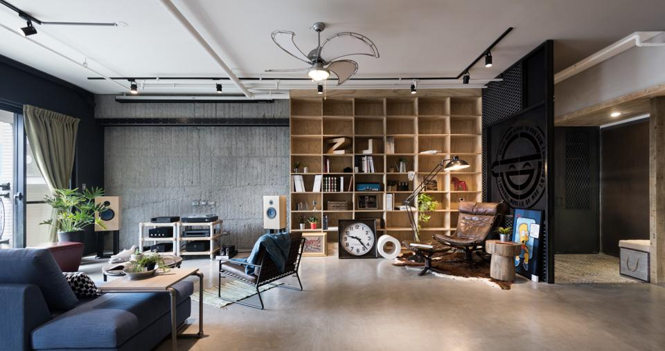 Un Loft Design 233 Pour Un Couple Et Ses Trois Chats Www Leblog2charliemike Com
