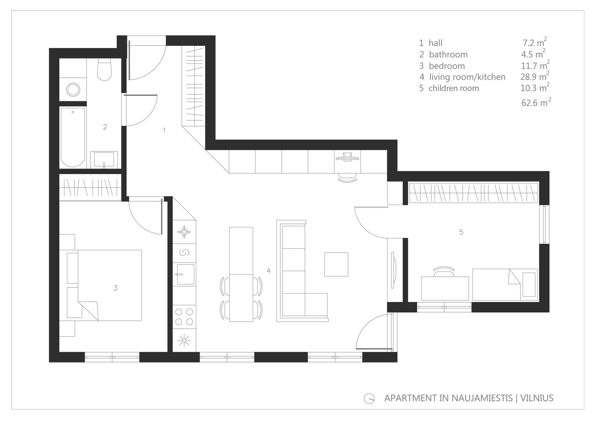 loft above garage ideas - Small Apartments Petits appartements