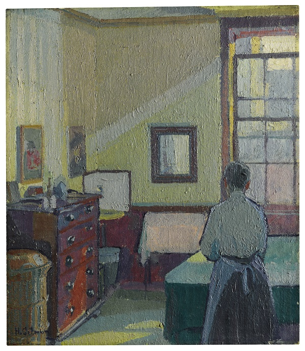 Harold-Gilman-Interior-Mrs-Mounter